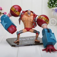 wholesale action figures - 7 One Piece New World After Years Franky PVC Action Figure Collection M
