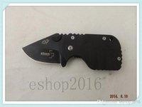 best pig knife - freeshipping HRC Boker QQ Black Pig Hunting Folding Pocket Mini knife Tactical Best Gift