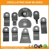 Wholesale 10pcs set Oscillating Multi Tools Saw Blades Accessories fit for Multimaster power tools as Fein Dremel etc