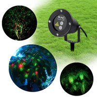 Wholesale Laser Lawn Lamps Waterproof Outdoor Laser Light Firefly Stage Lighting Landscape Red Green Projector Christmas Garden Sky Star Lawn Lamps