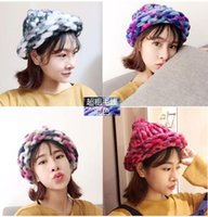 Wholesale 2015 New Arrival Fashion knitted hat women Girl bucket hat for girls winter warm cap woman Winter hat