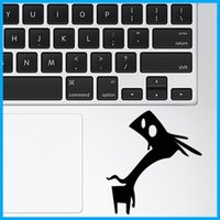 Wholesale Cute Monster Notebook touchpad Decal Laptop trackpad Sticker for Apple Macbook Air Pro Retina quot quot quot quot Cool Pegatinas portatil TPS