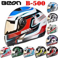 abs reducer - 2016 classic genuine BEON Full Face motorcycle helmet winter electric bicycle helmets glare reducer for men women Four Seasons General B500