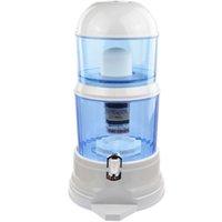 barrel drink dispenser - 16L Water Filter Barrels Mineral Pot Water Treatment Filter Alkaline Straight Drink Bucket Dispenser Mineral Water Purifier