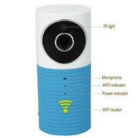 Wholesale 720P Wireless WIFI Smart Camera Baby Monitor Voice Intercom IR Motion Detection Alarm For Home Security F4342Z