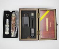 k fire ecig - K Fire E cigarettes kit Wooden Mod Ecig Kits Variable Voltage V V Spinner Battery with VIVI Nova Atomizer DHL