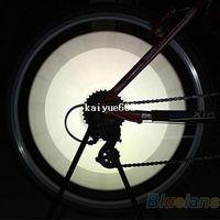 bike reflectors - 12 Bicycle Bike Wheel Spoke Reflector Reflective Mount Clip Tube Warning Strip Light Parts