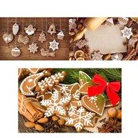 Wholesale Beautiful Enfeites De Natal Polymer Clay Drop Pendants Christmas Tree Baubles Decoration Hanging Ornament Snowflakes Decor