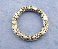 bali silver rings - Hot x100PCs Silver Bali Ring Connectors mm Over Free Express