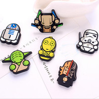 wall magnetic - Star wars PVC Fridge magnets home decor pc kids Magnetic decorative laminated wall stickers home decoration wall art stickers