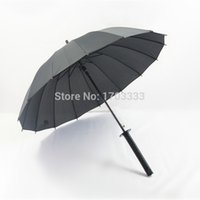 semi automatic - Japanese Samurai Swords Umbrella Katana Umbrellas Creative Umbrellas