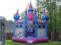 Wholesale 2016new inflatable castle inflatable bouncer house beautiful inflatable dream castle