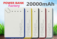Cheap CHINA factory - 20000mAh Power Bank External Battery Backup USB Portable Cell Phone Chargers For Mobile phone FREE UPS