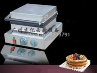 Wholesale FY B Commercial waffles machine Four frame round waffle machine checkered cake bread machine