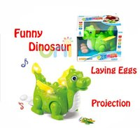 best projection tv - Electronic toys lay egg dinosaur with music and lightening unique projection function best toys for kids Baby Xmas Gift W