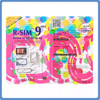 Wholesale RSIM R SIM PRO Perfect SIM Card Unlock Official IOS X for iphone S S C GSM CDMA WCDMA