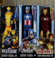 action moves - Hot sale Spider Man Figure Iron man captain America wolverine Toy Marvel Super Hero Spiderman Action Figure Moving of the limbs style tf6
