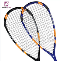 squash racket - FANGCAN DARKNESS Graphite Lightweight Professional Squash Racket include Racket cover Squash ball and Overgrip