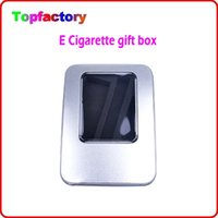 aluminium battery case - High Quality electronic cigarette Aluminium Case for eGo CE4 CE5 CE6 atomizer and ego mAh Battery Starter Kit DHL