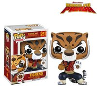 action kung fu - New Movie Kung Fu Panda Funko Pop Toys Tigress Action Figures Kids Gifts