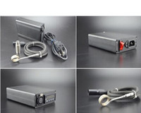 Wholesale e nail electronic vaporizer the dab enail heater box temperature control box for enail dnail dhl for glass bong herbal wax