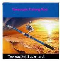 Wholesale Portable Telescopic Fishing Rod Carbon Spinning Casting Rock Fishing Pole Stick Fishing Rod