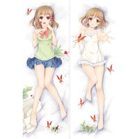 Polyester / Cotton anime yume - Hasegawadream Hasegawa Yume Pupa Dakimakura Anime Dakimakura Pillow Cases Creative Christmas Gifts Express BZ0139