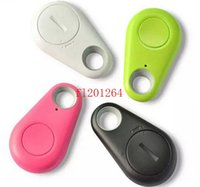 Wholesale 50pcs iTag Wireless Bluetooth Anti lost Alarm Key Finder Tracker For MobilePhone Kids Pet Remote Selfie Shutter