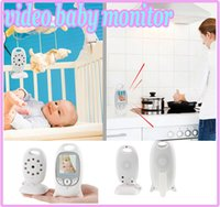 Wholesale Hot CCTV wireless Video Baby Monitor Camera quot LCD GHz Two Way Talk Back Lullabies Night Vision Temperature Monitoring VB601