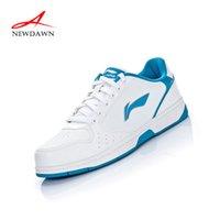 Wholesale Li Ning quality skateboarding shoes breathable white fashion men shoes men sneakers