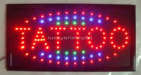 Wholesale 2015 New arriving super brightly customized led light signs led TATTOO signs neon led TATTOO signs TATTOO led indoor