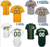 athletic shorts for men - Cheap Custom Oakland Athletics Baseball Jerseys Customized Personalized Stitched Jerseys For Any Name Any Number Size S XL