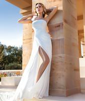 Cheap A-Line 2015 Beach Wedding Dress Best Reference Images 2016 Spring Summer 2015 destination Wedding Dresses