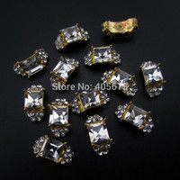beauty supply charmed - ails Tools Rhinestones Decorations MNS651C nail art gold Square ring d nail art charms china beauty supplies nails decorations new arri