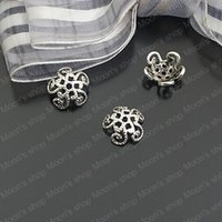 Wholesale Fashion Jewelry Findings Accessories charm pendant Alloy Antique Silver MM Receptacle