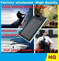 Wholesale NEW Sport solar charger mAh power bank emergency charger mobile power supply with pothook Waterproof Dustproof unique design LED light