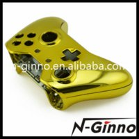 Cheap Free Shipping Chrome Gold Housing Replacement Shell and Buttons For Xbox One Controllers Cheap Controllers