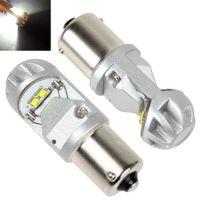 aviation lamps - 1 pair of LM Degree Aviation Aluminum Car Back Up Light x W LEDs White Light Brake Lamp CLT_050