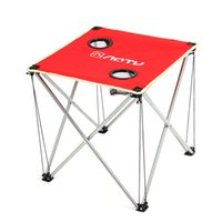 Wholesale Ultra light Portable Foldable Folding Table D Oxford fabric Table Desk for Outdoor Camping Picnic Travel BBQ Beach order lt no track