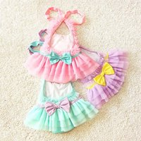 Wholesale Baby Girl Ruffle Lace Swimsuits Kids Bathing Suits Girls Swimsuit Kids Swimwear Child Sets Beachwear Children Swimwear Lovekiss C22368