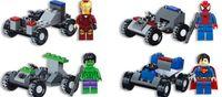big building blocks children - Mix Color Super Hero Building blocks Big Intelligence toys Big Hero Gift For Children