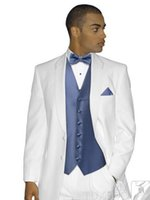 Cheap Groom wedding dress is suitable for the new style of white suit men marry