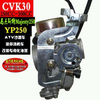 Wholesale CVK30 Carburetor for Majesty YP250 AVT Linhai VOG TANK ROKETA MC B XINGYUE XY260T Vergaser mit Powerjet CC CC