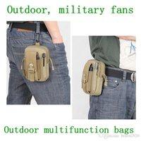 Wholesale THUNDER D30 For Mens Women Tactical waist Bag Outdoor D Nylon Waterproof Sports Waist Purse wear belts For Samsung Mobile Phone case