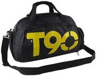 sports bag - 2015 Large capacity mens travel bags Waterproof Muliti functional top handle gym bag fitness backpack sports bags duffle bag
