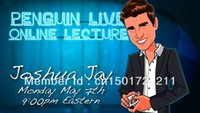 Wholesale Penguin Magic Joshua Jay Penguin Live Online Lecture magic teaching video card magic fast delivery send via email