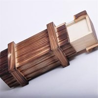 Wholesale New Magic Wooden Puzzle Box Puzzle Wooden Secret Trick Intelligence Compartment Gift PA872407