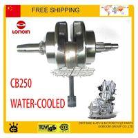 Wholesale water cooled crankshaft CB250 LONCIN cc fit xmotos apollo miklon kayo gio Dirt Pit Bike ATV quad crank shaft order lt no tr