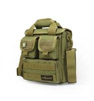 Materiale SOLDATO CORDURA GRATIS cerniera YKK HikingCamping singoli sacchetti di spalla di uomini e donne borsa compuer borsa casual