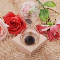 sand timer hourglass - Magnetic Sandglass Hourglasses Magnet Hourglass Awaglass Hand blown Sand Timer Desktop Decoration Colors